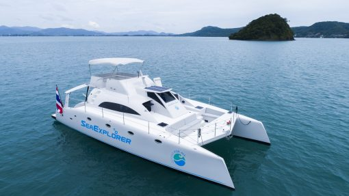 Isabella Yachts Puket - Power Catamaran 47 yacht pic3